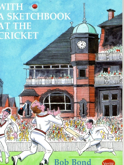A sketchbook at the Cricket