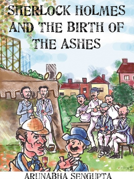 Sherlock Holmes and the Birth of the Ashes front  cover430x675